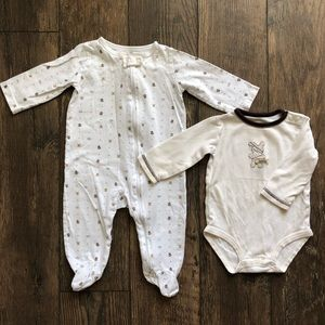Bundle of Long Sleeve Baby Clothing